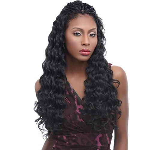 HARLEM 125 KANEKALON KIMA BRAID OCEAN WAVE 20