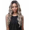 Bobbi Boss Sana Lace Front Wig Human Hair Blend