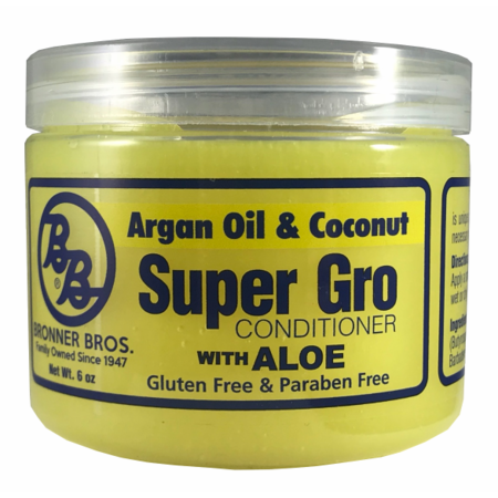 Bronner Brothers Argan Oil & Coconut Super Gro Conditioner 6 oz