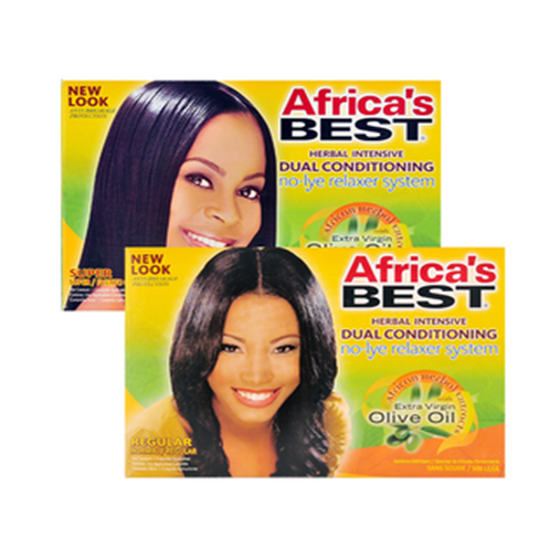 Africa's Best No Lye Regular Relaxer System Regular or Super