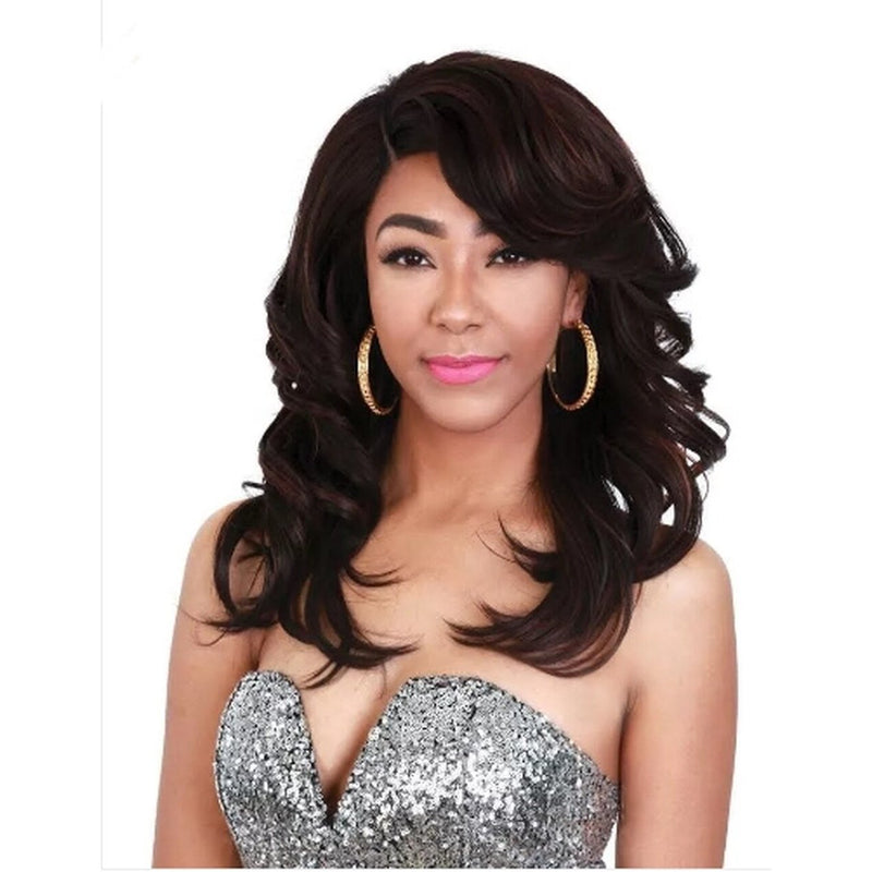 Zury Sis Royal Pre-Tweezed Part Swiss Lace Front Wig - FERRY