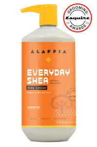 EveryDay Shea Body Lotion – Unscented Shea Butter Lotion