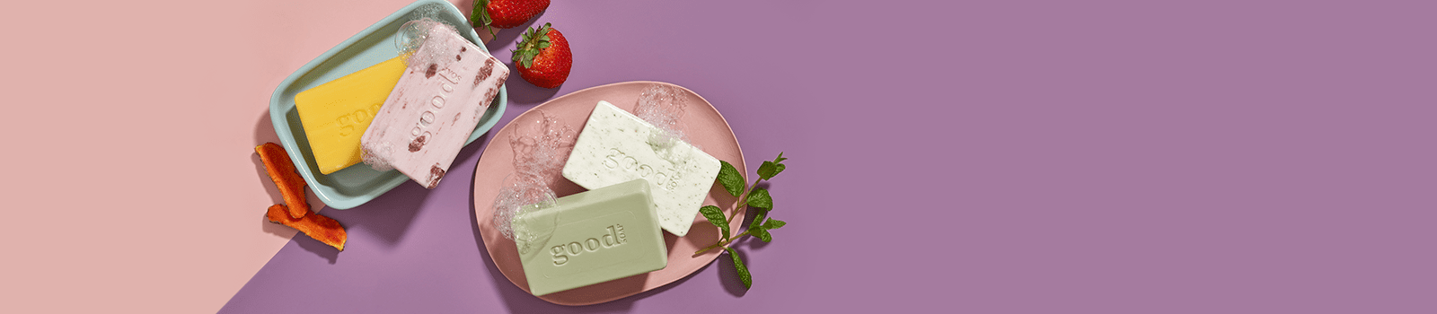 Alaffia's Good Soap bars are triple-milled, gluten-free and zero waste. 100% of proceeds go to helping communities and families around the world.