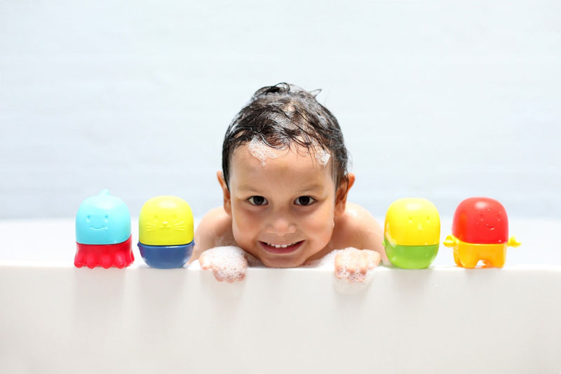 Mix and Match: Interchangeable Bath Toys