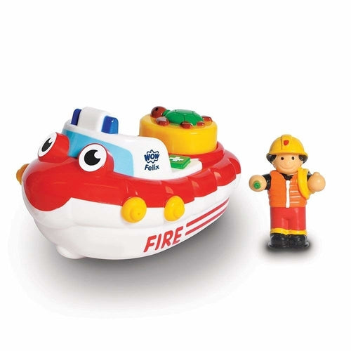 Wow Toys Fire and Tug Boat