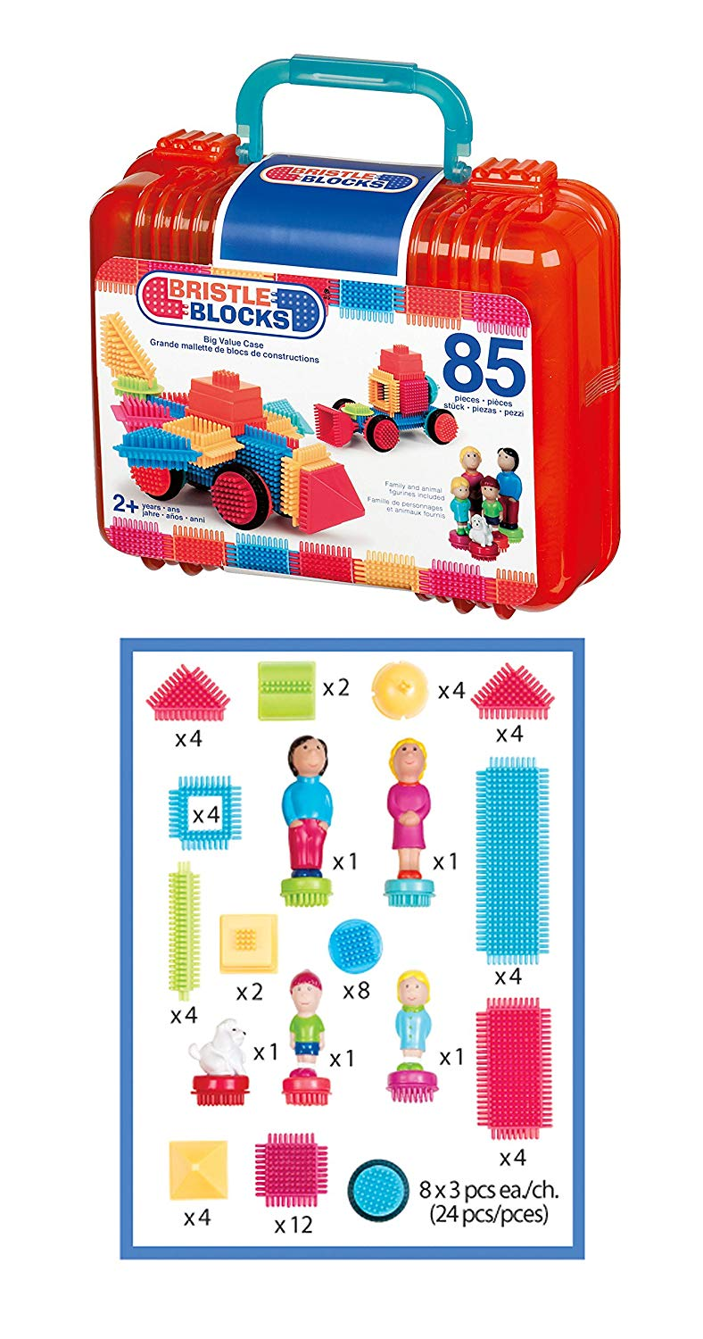 Bristle Blocks, 85 Pcs