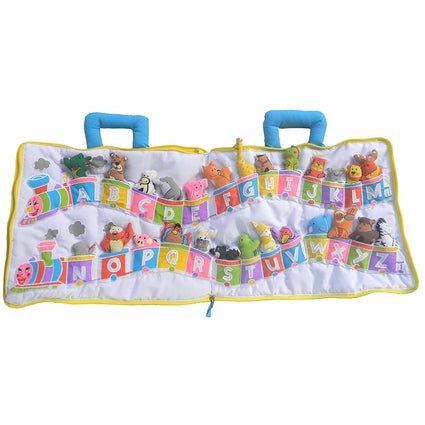 ABC Animal Train Soft Play Set