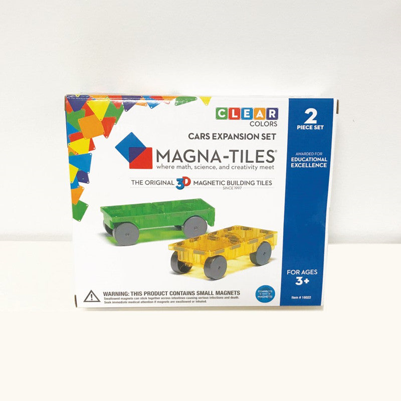 Magna Tiles Cars Expansion Set