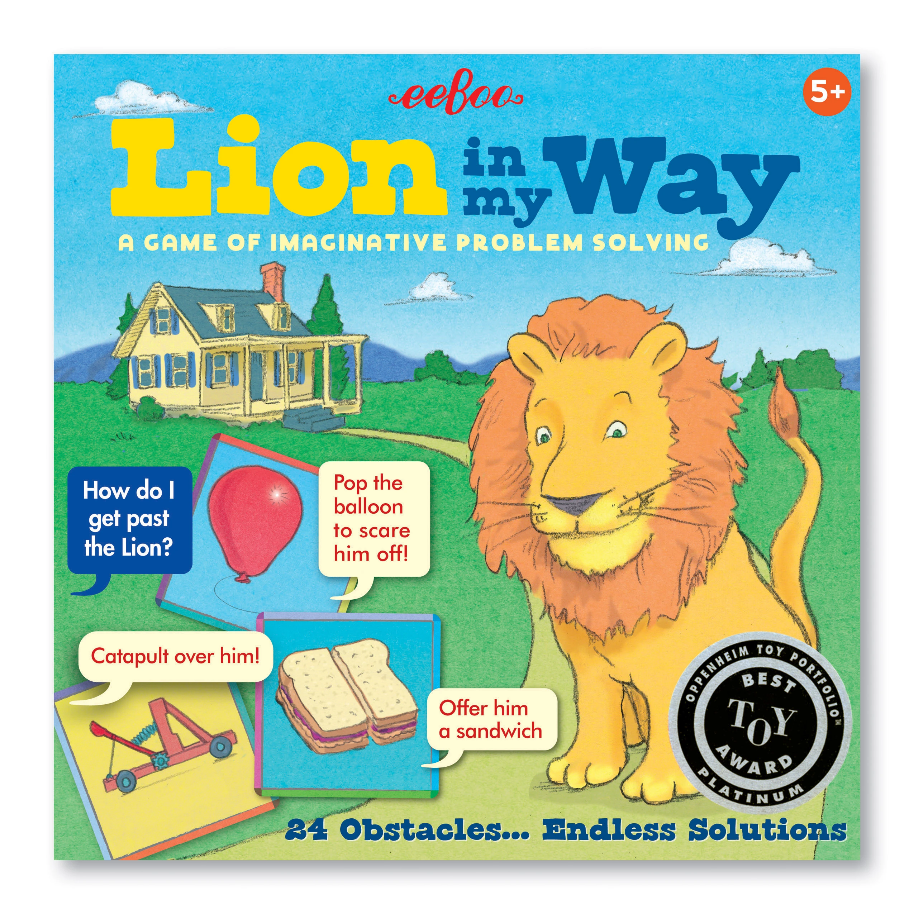 Lion in my Way Collaborative Game
