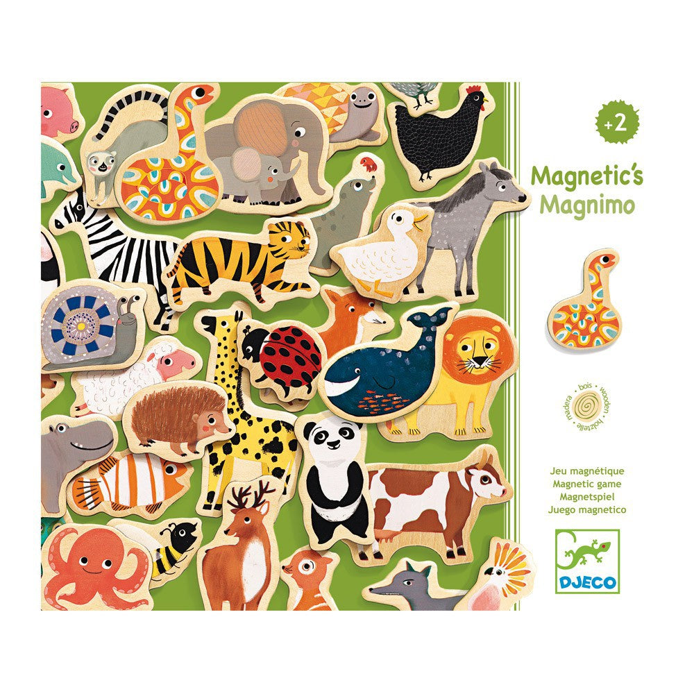 Djeco Animal Magnetic Wooden Fridge Magnets