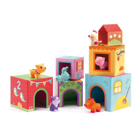 Three Little Pigs Soft Playset with Book
