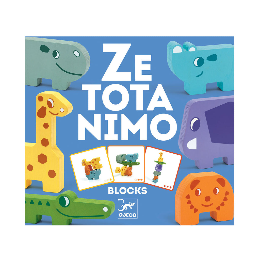 Djeco Ze Totanimo Blocks