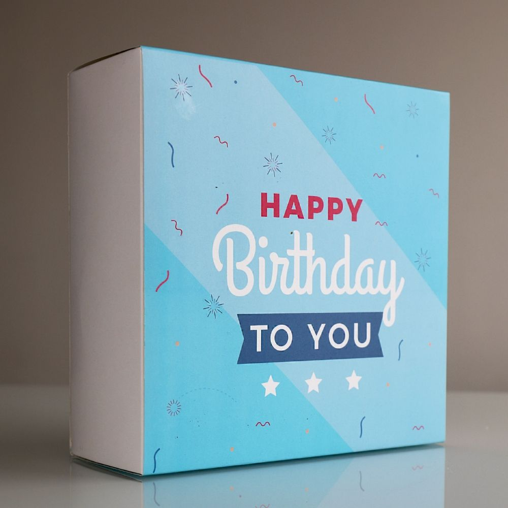 Regalo Caja - Happy Birthday