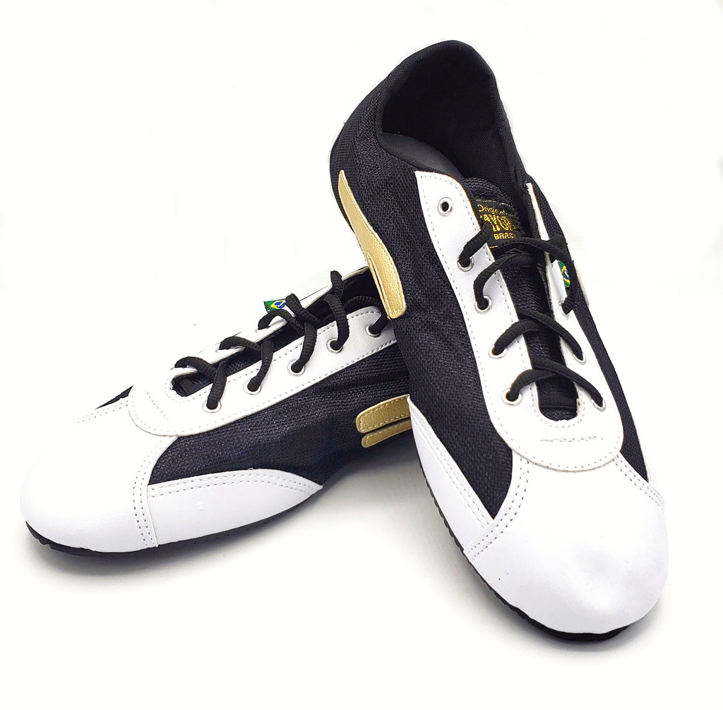 Gold, White & Black Slim Nylon TAYGRA