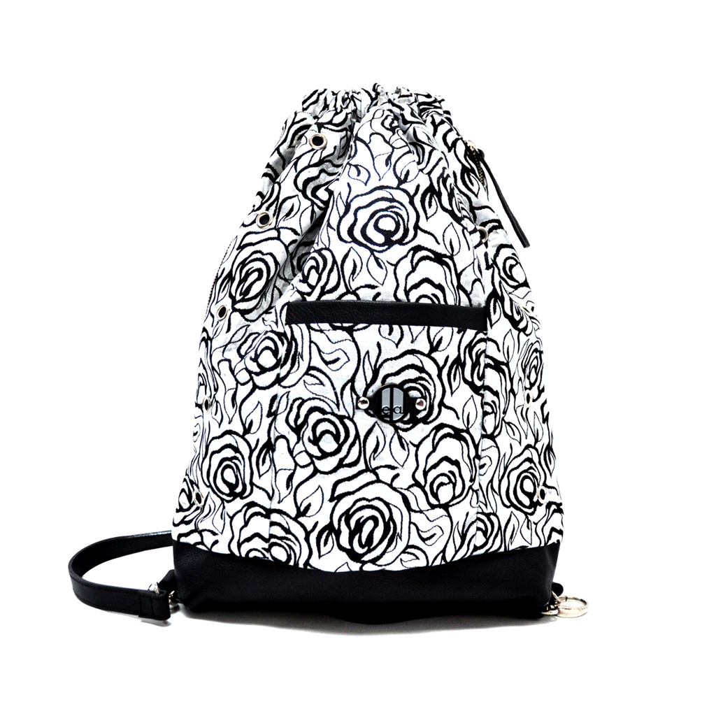 Silver Rose LeDal Bag
