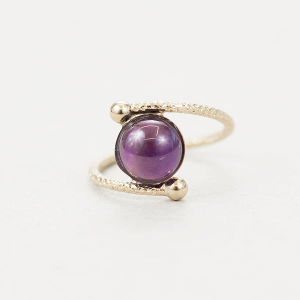 "Bague ronde  / Ring  ""Ushas, goddess of dawn who illuminates the world with truth."""