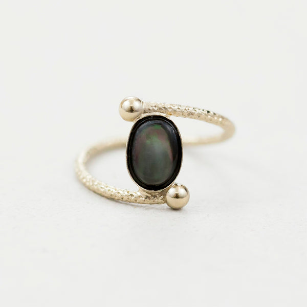 "Bague ovale  / Ring  ""Ushas, goddess of dawn who illuminates the world with truth."""