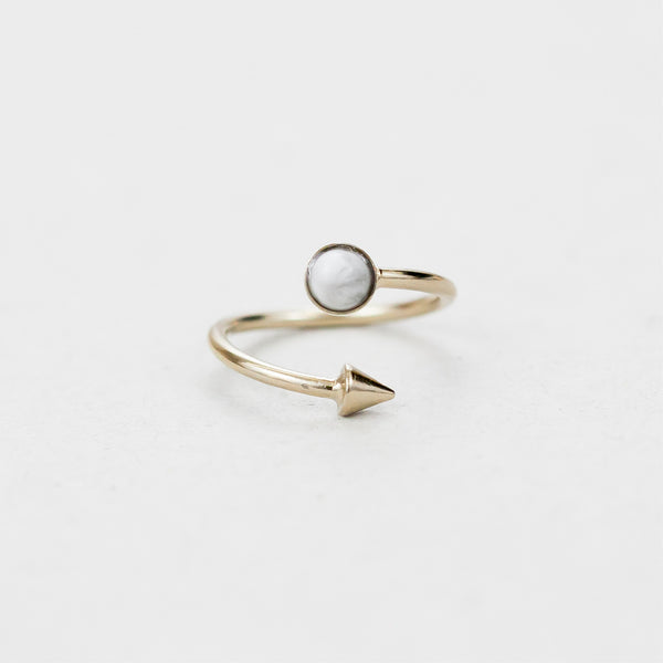 "Bague rond  / Ring  ""Hemera, goddess of light who reveals the higher sky"""