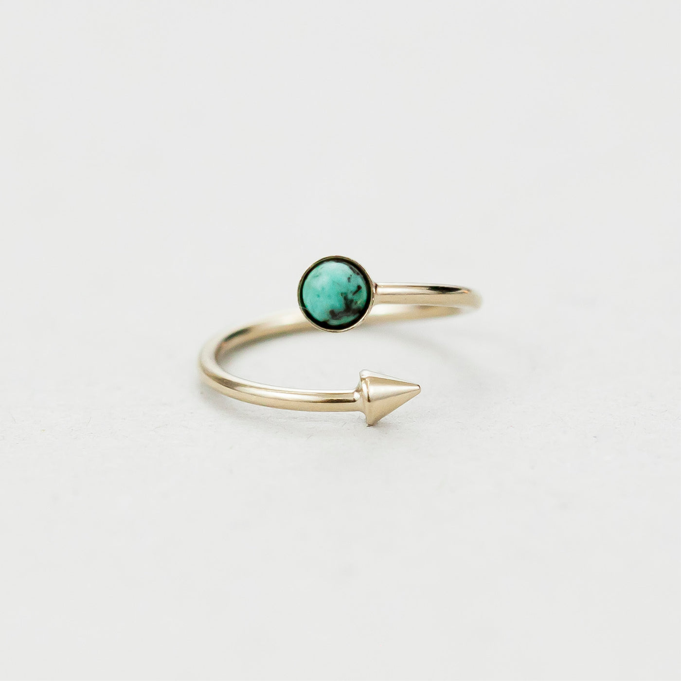 "Bague rond ""Hemera, goddess of light who reveals the higher sky"""