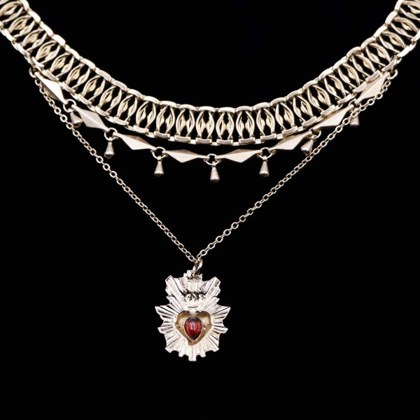 Collier-plastron JUDAS