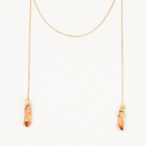 "Collier à nouer / Tied Necklace  ""Hatshepsut, the first egyptian queen."""