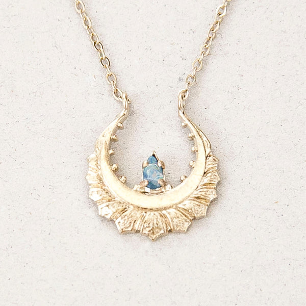 "Collier Lotus Opale / Necklace   ""Marry me"""