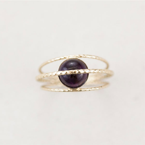 "BAGUE / RING ""LOSNA, THE MAGICAL MOON GODDESS"""