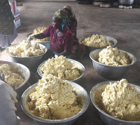 Fair Traded Shea Butter - Organic and Unrefined