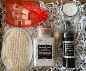 Home Spa Gift Box - Bath Soaking Salts