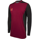 Oxton CC Junior T20/Training Shirt Long Sleeve - Sportsville