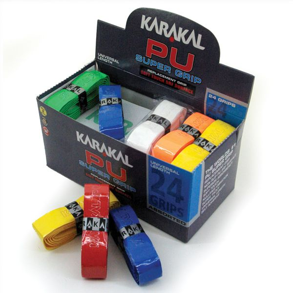 Karakal PU Super Grip Assorted - Box of 24 - Sportsville
