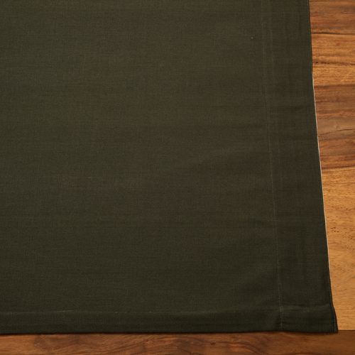Curtains - British Racing Green - Tab Top