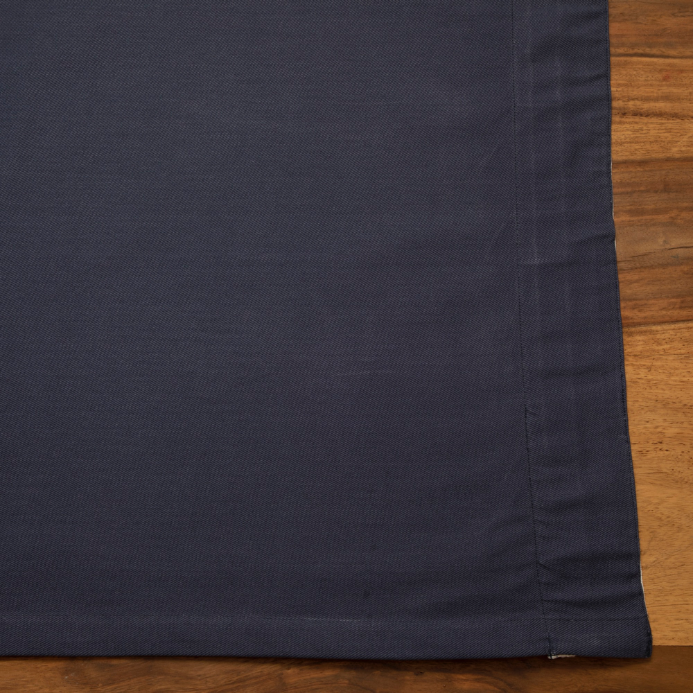 Curtains - Navy - Triple Pleat