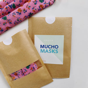 Mucho Masks - Floral - Limited Edition
