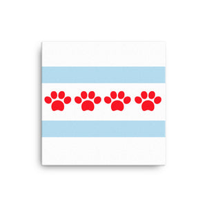 Chicago Paw Prints