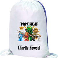Ninjago Bag-Bag-Its Personalised LTD