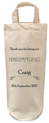 Wedding Party Bottle Bags-Bottle Bag-Its Personalised LTD