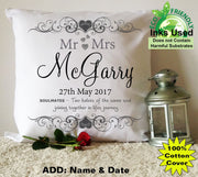 Wedding Day Cushion