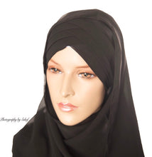 Load image into Gallery viewer, Criss Cross hijab
