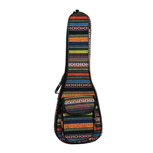 New 23 Inch Portable Cotton Nylon Padded Bass Guitar Gig Bag Ukulele Case Box Guitarra Cover Backpack With Double Strap