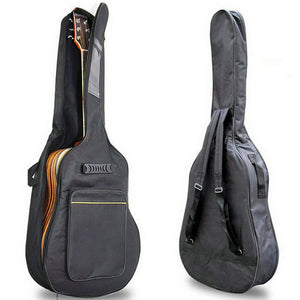 "SEWS 41"" Acoustic Guitar Backpack  Double Straps Padded Guitar Soft Case Gig Bag Backpack free shipping"