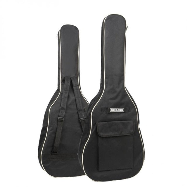 SLADE 40/41 Inch Oxford Fabric Acoustic Guitar Gig Bag Soft Case Double Shoulder Straps Padded Guitar Waterproof Backpack