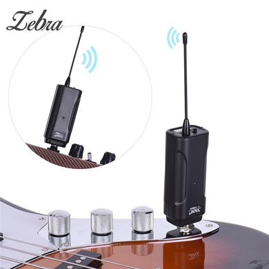 Portable Wireless Audio Transmitter Transmission Receiver System for Electric Guitar Bass Electric Violin Musical Instrument