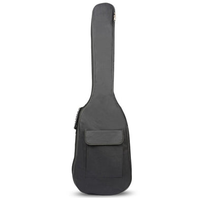 HCH-Black Waterproof Double Straps Bass Backpack Gig Bag Case for Electric Bass Guitar 5mm Thickness Sponge Padded