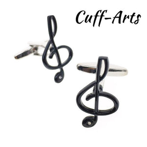 Cufflinks for Mens Music Instrument Classic Mens Cufflinks Gifts for Man Shirt Cuff Links by Cuffarts Drop Shipping ZH027