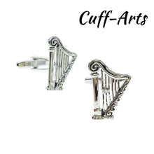 Load image into Gallery viewer, Cufflinks for Mens Music Instrument Classic Mens Cufflinks Gifts for Man Shirt Cuff Links by Cuffarts Drop Shipping ZH027