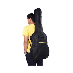 41 Inch Acoustic Guitar Bag Portable Padded Gig Bag Guitar Backpack Case With Shoulder Strap Guitar Accessories Parts