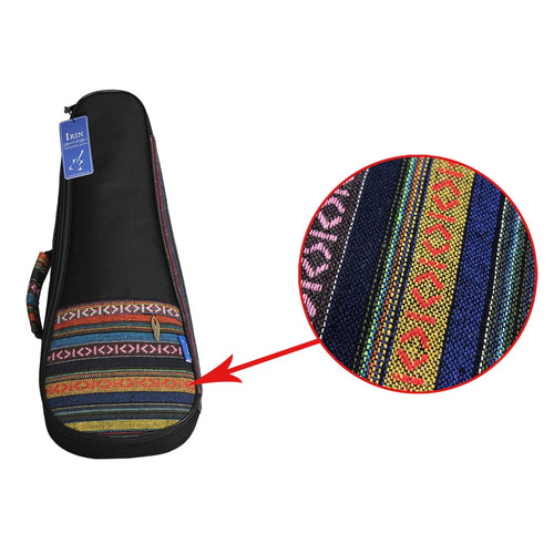 21 Inch Portable Cotton Nylon Padded Bass Guitar Gig Bag Ukulele Case Box Guitarra Cover Backpack With Double Strap