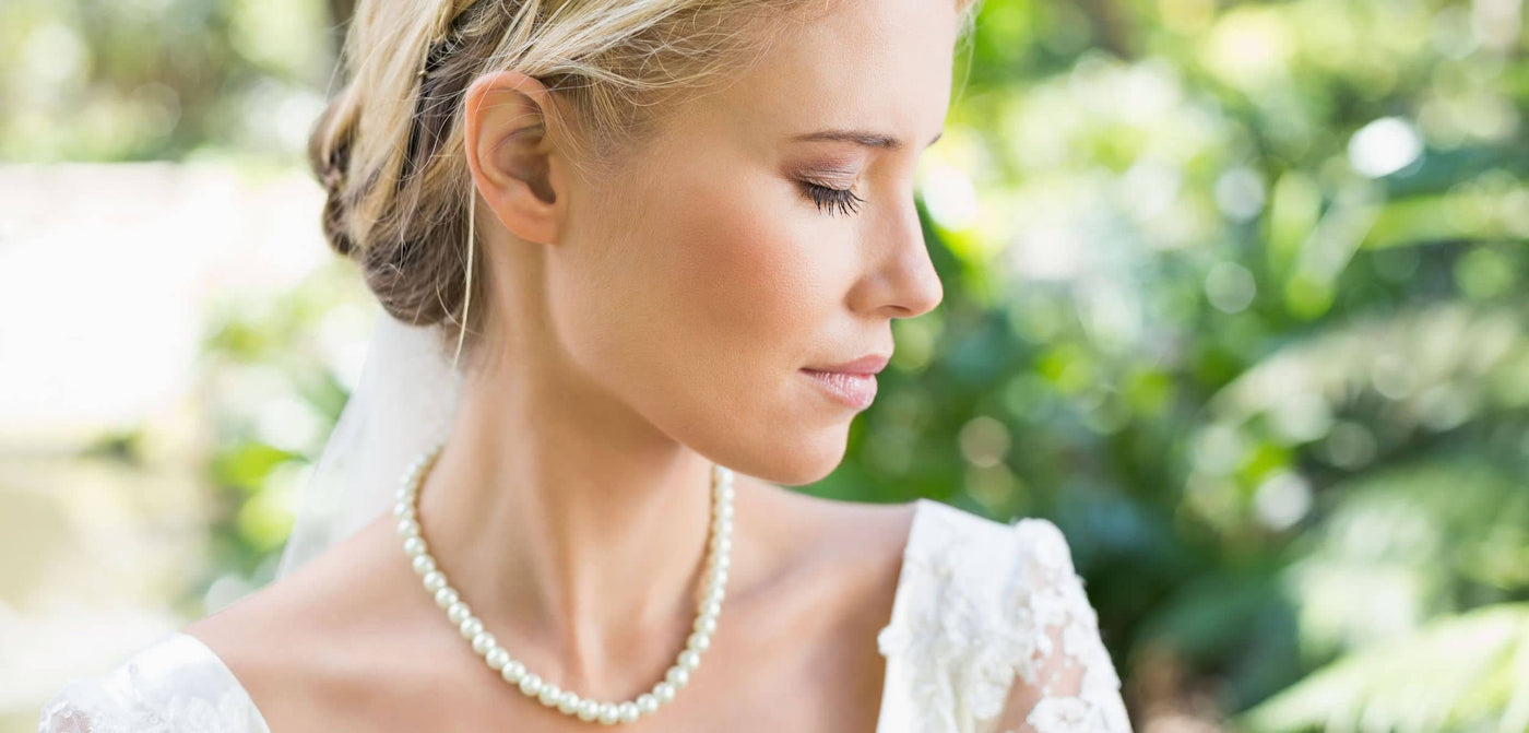 Pearl Jewelry | Pearl Necklace - Real Pearl Earrings & Bracelet