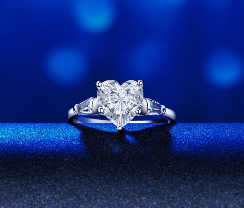 Simulated Diamond Ring